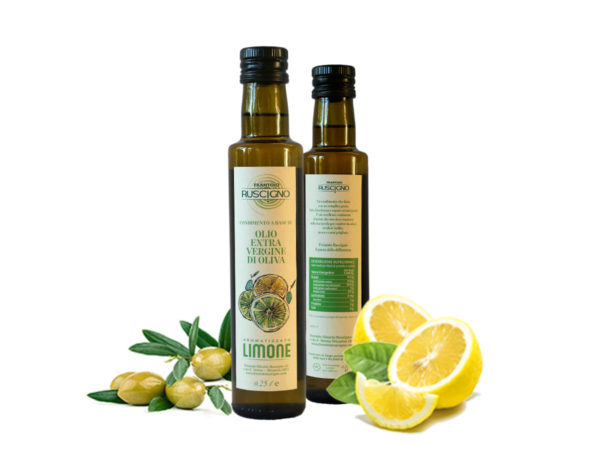 Olio extravergine di oliva al limone ruscigno