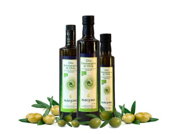 Olio extravergine di oliva bio Frantoio Ruscigno Tricarico